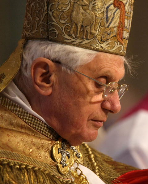 Pope Benedict XVI Attends Prayer Service In Washington