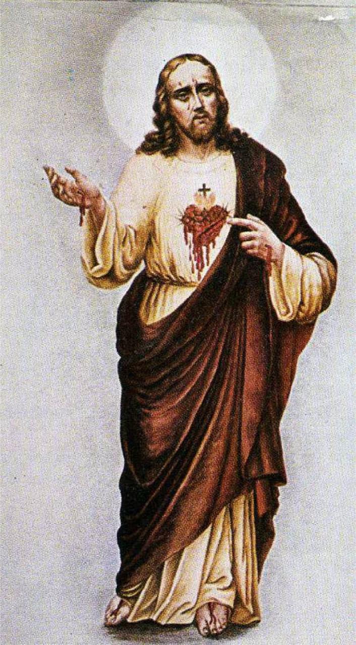 Image of His broken Heart
